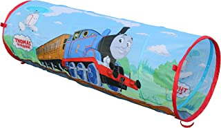 Sunny Days Entertainment Thomas The Train 6 Foot Play Tunnel – Indoor Crawl Tube for Kids | Pop Up Thomas The Tank Engine Toy Tent, Multi