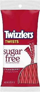 TWIZZLERS Sugar Free Strawberry Twists (5-Ounce Bag)