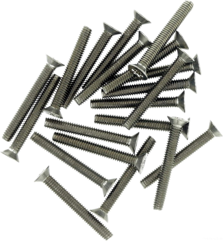 confezione da 20 Vite a testa svasata TX M5 A2 in acciaio inox 5 mm x 8 mm