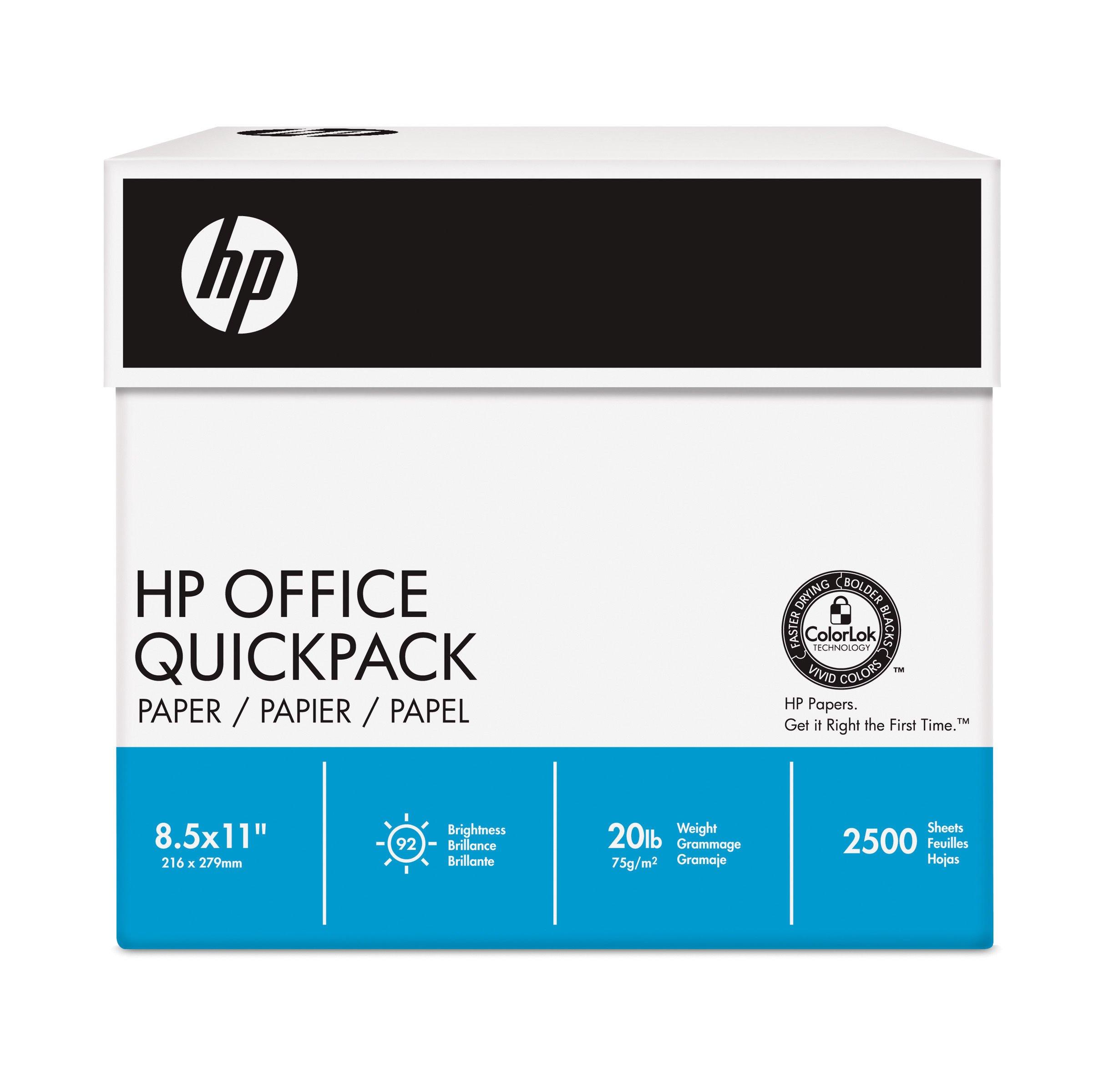 HP CHP113 - Caja con 2500 folios (A4, 80 g/m²), color blanco: Amazon.es: Oficina y papelería