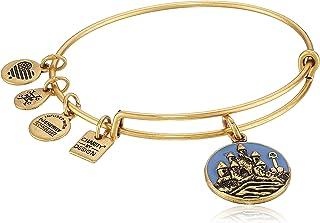 Alex and Ani Charity By Design, Sand Castle EWB Bangle Bracelet