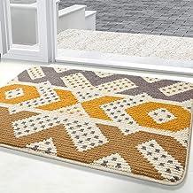"""Doormat, Indoor Outdoor Waterproof, Non Slip Washable Quickly Absorb Moisture and Resist Dirt Rugs(40""""x48"""")"""