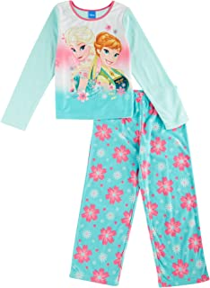 Disney Frozen Fever 2 Piece Girls Pajamas, Sizes 4-10