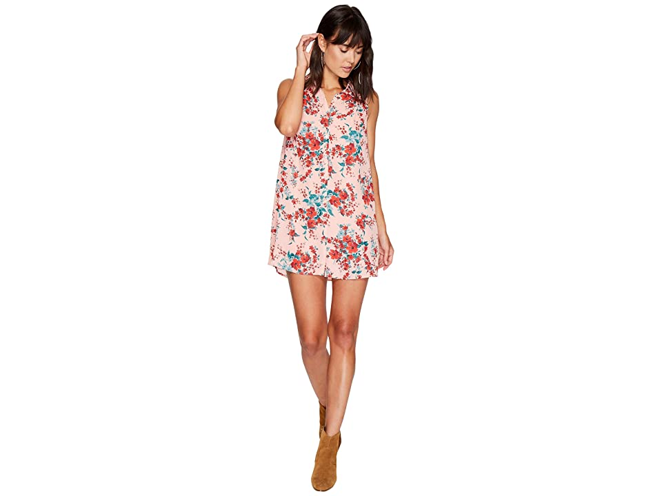 Jack by BB Dakota Armand Floral Printed Dress (Rose Dawn) Women