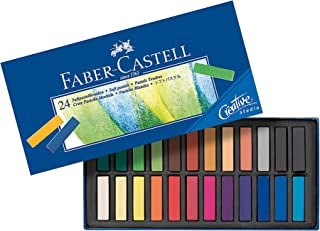 Faber-Castell 24 suave Half pastells