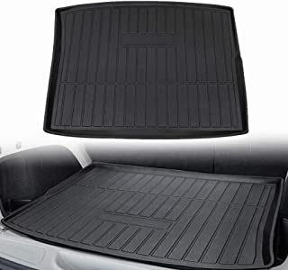 CUMART Rear Cargo Mat Liner Trunk Tray Floor Waterproof Protector Protection Compatible with Jeep Cherokee 2014 2015 2016 2017 2018 2019 2020