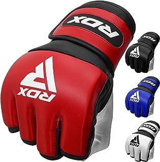 RDX Guanti MMA Boxe Gel Tech Grappling Combattimento Boxe Borsa IT