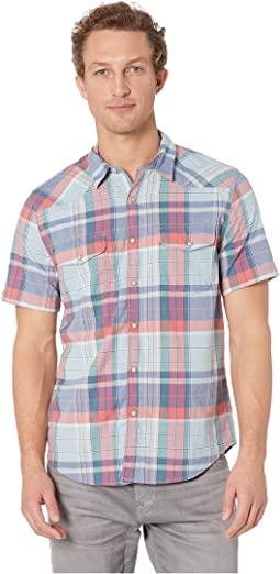 Short Sleeve Santa Fe Western Shirt