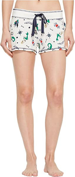 P.J. Salvage Soul Mates Mermaid Shorts