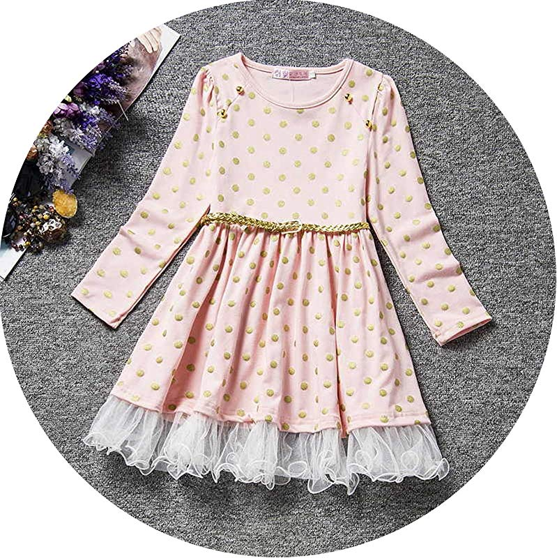 Petals Designs Girl Dress Children Party Costume Kids Formal Events Vestidos Infant Flower Dress Fluffy Wedding Gown 3 5 7T As Photo4 7