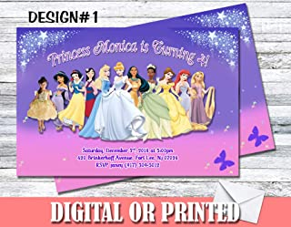 Princess Personalized Birthday Invitations More Designs Inside!