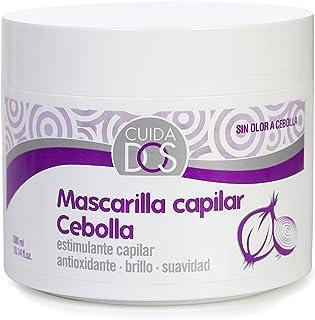 Cuidados Mascarilla Capilar de Cebolla Antioxidante Estimulante Capilar Purificante Reparadora Brillo y Suavidad sin...