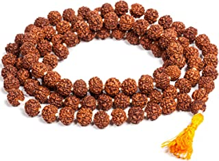 Vrindavan Bazaar Rudraksha Jaap Mala for Astrology (108+1 Beads)