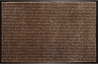 Enviroback Apache Rib Door Mat, Cocoa, 18-Inch by 27-Inch