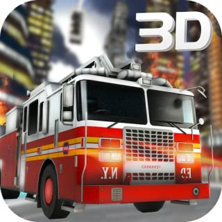 Firefighter Truck Driver Emergency Madness 3D: 911 Rescue Simulator Adventure Mission Game 2018
