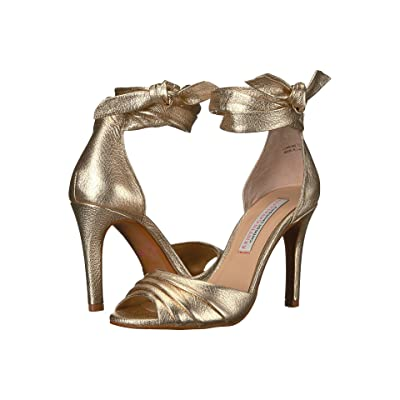 Kristin Cavallari Lilac Heeled Sandal (Gold Metallic) High Heels