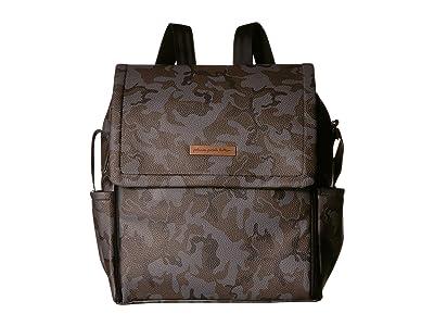 petunia pickle bottom Matte Leatherette Boxy Backpack (Camo Leatherette) Diaper Bags