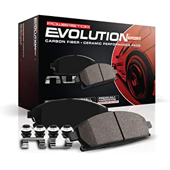 Z17 Front Ceramic Brake Pads with Hardware Power Stop 17-906