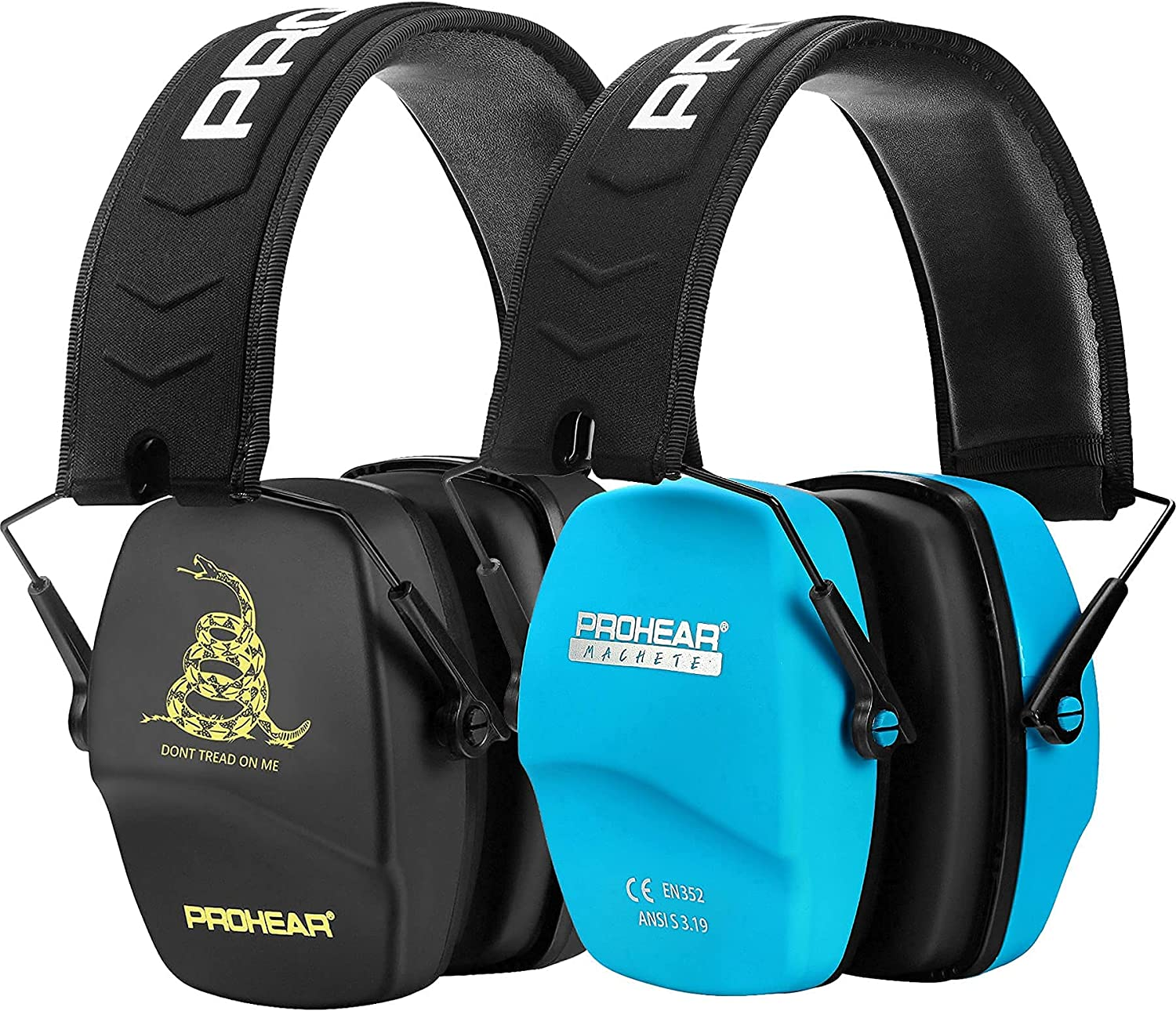 PROHEAR 016 2-Pair 100% quality New Free Shipping warranty Shooting Ear Earmuffs Safety NRR Protection