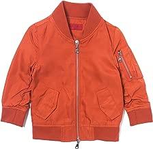 Haus of JR Devin Satin Bomber Jacket (Burnt Orange)-Unisex