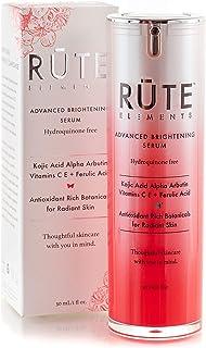 RUTE ELEMENTS Dark Spot Corrector Remover For Face | Melasma & Hyperpigmentation Treatment - Kojic Acid, Alpha Arbutin, Vitamin C, Ferulic Acid, Retinol - HQ FREE Anti Aging Skin Brightening Serum