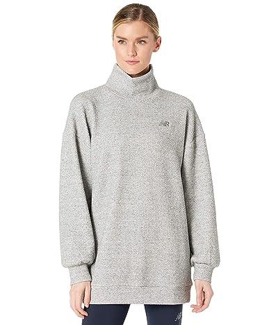 New Balance Transform Spring Loft Pullover (Athletic Grey) Women