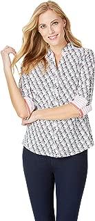 Foxcroft Women's Mary Toucan Wrinkle Free Shirt