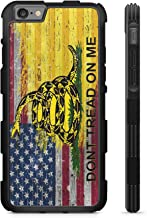 407Case American Gadsden Flag Brick Wall Hyper Shock Rubber Protective TPU Case (Compatible with iPhone 6/6s)