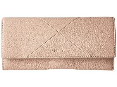 ECCO Linnea Continental Wallet (Rose Dust) Wallet Handbags