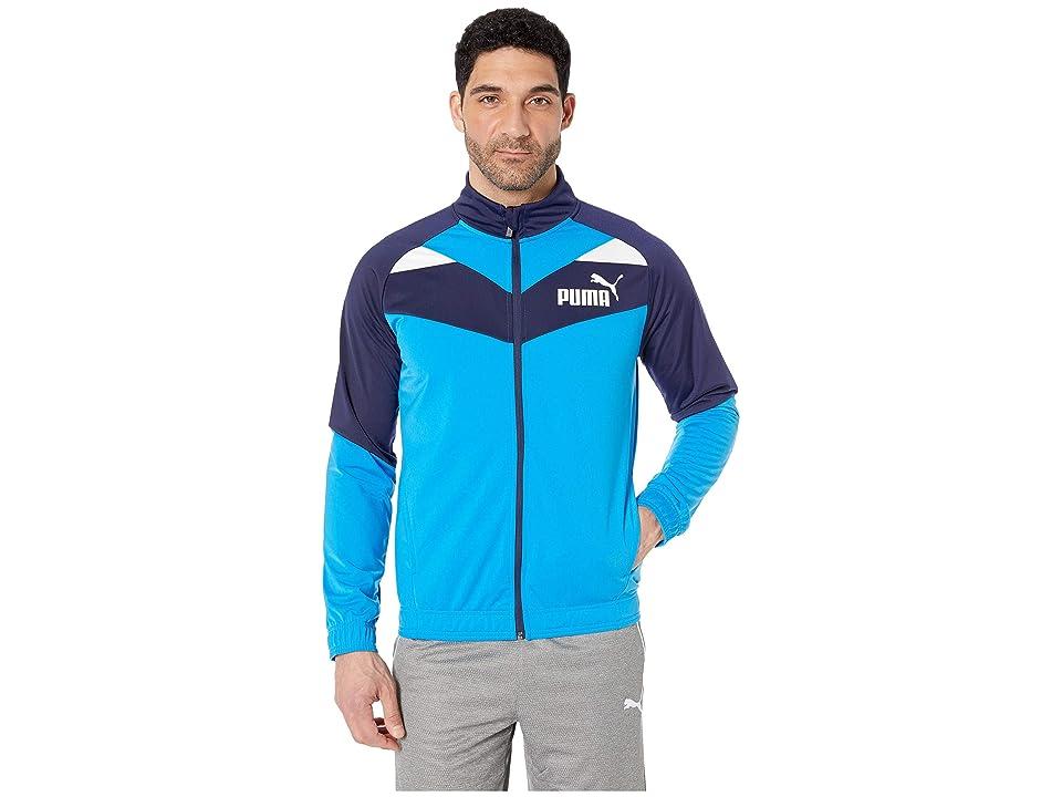 PUMA Iconic Tricot Jacket (Peacoat/Indigo Bunting) Men