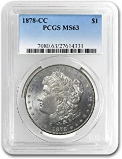1878 CC Morgan Dollar MS-63 PCGS $1 MS-63 PCGS