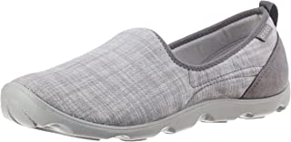 Crocs Womens Busy Day Chambray Skimmer Loafer Shoes