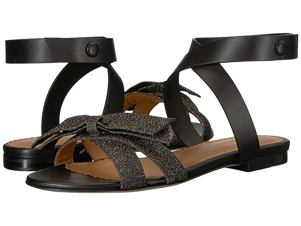 M Missoni Lurex Sandal (Black) Women