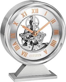 Citizen 西铁城 装饰台钟 玫瑰金和银色 CC1027