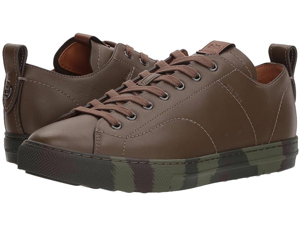 COACH C121 Leather Low Top (Fatigue) Men