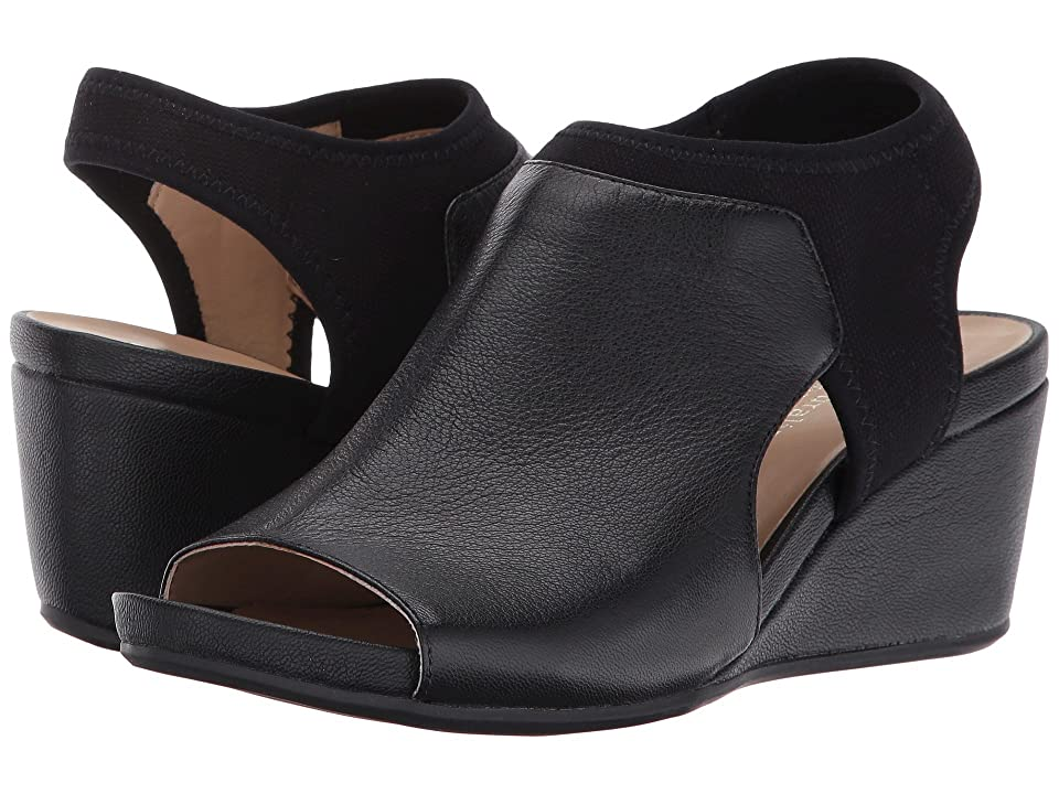 Naturalizer Cailla (Black Fabric/Leather) Women