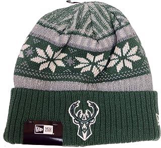 competitive price 4632d 5056d New Era Milwaukee Bucks Vintage Cuffed Knit Hat