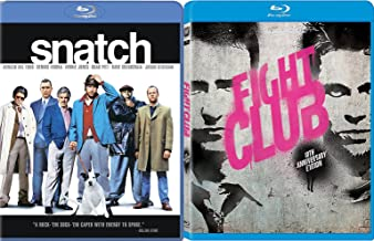 Brad Pitt Snatch & Fight Club [Blu-ray] Bundle Double feature Set