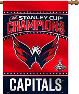 Fremont Die NHL Washington Capitals 2018 Stanley Cup Champions House Flag