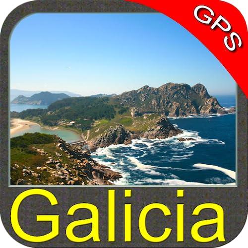 Galicia GPS Map Navigator