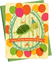 product image for Turtle Portrait Wood Birthday Card by Night Owl Paper Goods