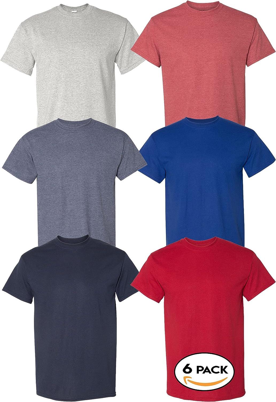 Multipack Gildan 8000 Men's Bulk DryBlend Award T-Shirts 3 6 10 Pack Max 45% OFF