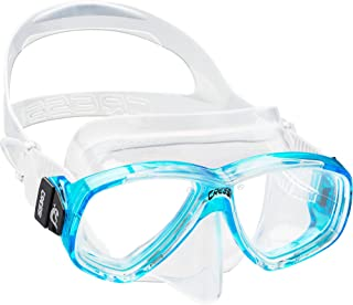 Cressi PERLA,成人小内体积硅胶面罩适用于Scuba,浮潜 - Cressi:自 1946 年起意大利品质。