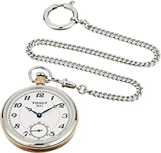 ساعت مچی مکانیکی Tissot Unisex Bridgeport Lepine مکانیکی از جنس استنلس استیل (مدل: T8604052903201)