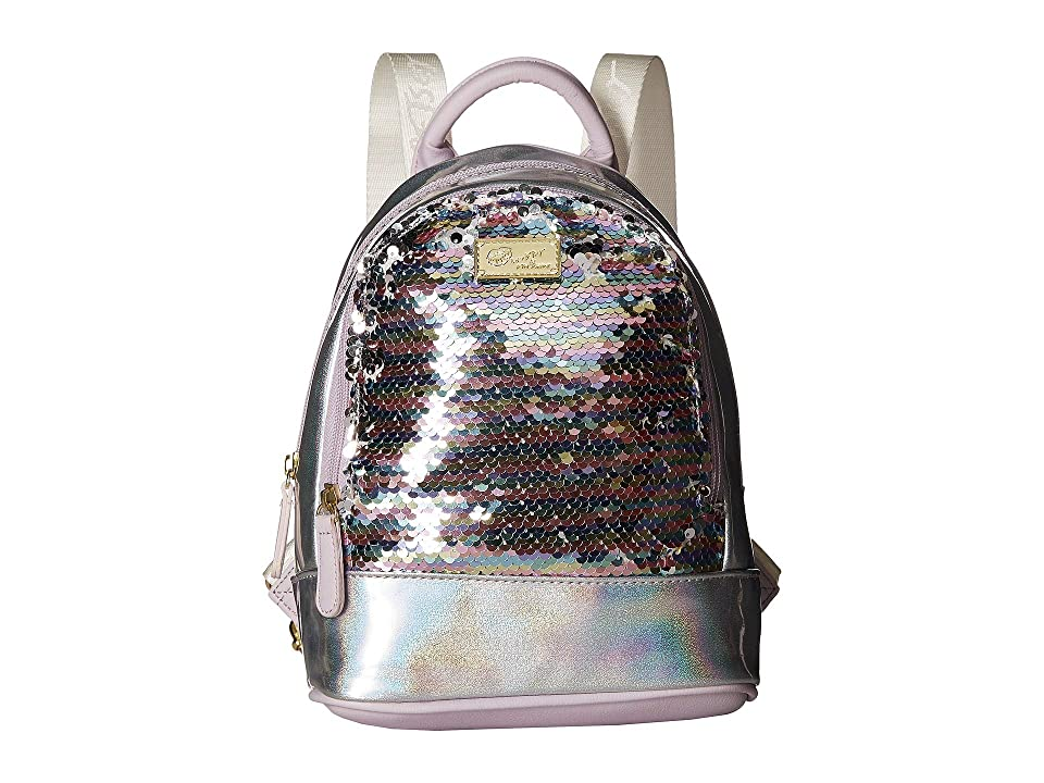 Luv Betsey Jaz Mid Size PVC Backpack (Lavender) Backpack Bags
