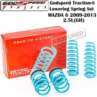 Godspeed(LS-TS-MA-0007) Traction-S Lowering Spring Set For Mazda 6 2009-2013 GH gsp set kit