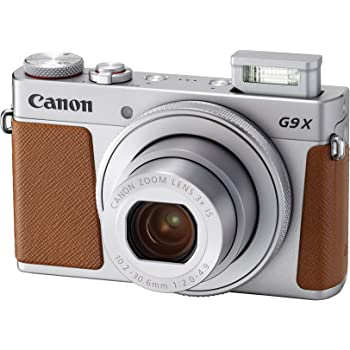 Canon PowerShot G9 X Mark II Compact Digital Camera w/ 1 Inch Sensor and 3inch LCD - Wi-Fi, NFC, Bluetooth Enabled (Silver)