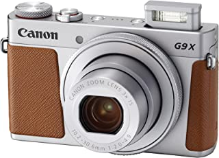 Canon PowerShot G9 X Mark II - 20.1 MP, Point & Shoot Camera, Silver