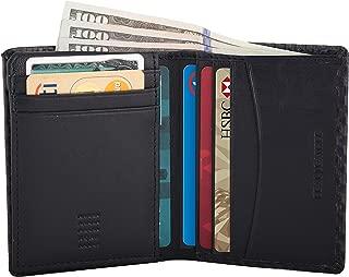 Nappa Leather Slim RFID Blocking Multi Slot Card Nappa Leather Wallet Passcase