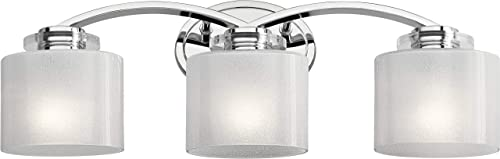 lowest Kichler 45863CH Contemporary Modern Three Light outlet sale Bath from Archer outlet online sale Collection in Chrome Finish online